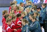 Lietuvos moterų rinktinė užbaigė pirmąją treniruočių stovyklą