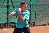 T.Babelis pasitraukė iš jaunių teniso turnyro Tunise