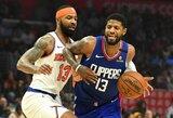 """""""Clippers"""" klube trys žaidėjai pelnė daugiau nei 30 taškų"""