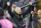 """""""Borussia"""" strategas L.Favre po iškovoto bilieto į kitą etapą negailėjo liaupsių savo auklėtiniams"""