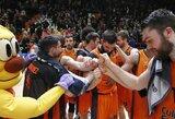 """Europos taurės nerezultatyviame pusfinalyje – """"Valencia"""" ekipos pergalė"""