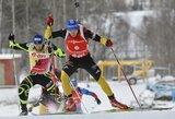 Vyrų sprinto varžybose lietuviams taikliai šaudyti nepavyko
