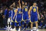 """""""Warriors"""" per vieną kėlinį panaikino 22 taškų deficitą"""