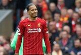 """V.Van Dijkas paaiškino, kodėl atmetė """"Man City"""" pasiūlymą ir prisijungė prie """"Liverpool"""""""