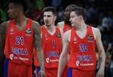 CSKA skrydis iš Belgrado atidėtas 7 valandoms