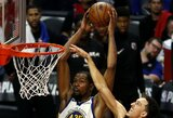 """Warriors"" komandai iki kito etapo trūksta vienos pergalės"