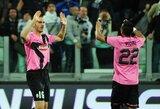 """Puikiai žaidęs """"Juventus"""" nepaliko vilčių """"Napoli"""" ekipai"""