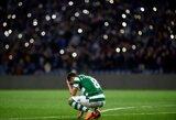 """Pamatykite: sirgaliai užpuolė """"Sporting"""" žaidėjus treniruotės metu, futbolininkai grasina nutraukti kontraktus"""