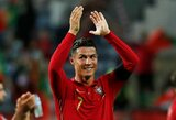 """O.G.Solskjaero pareiškimas: """"C.Ronaldo niekada nebūtų prisijungęs prie """"Man City"""""""