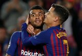 """Barcelona"" net ir be L.Messi iškovojo trečią pergalę Čempionų lygoje"