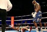 Vienuoliktame raunde D.Chisorą nokautavęs D.Whyte'as liko nusivylęs į ringą iškviesto A.Joshua žodžiais
