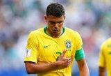 T.Silva: apie Brazilijos favoritų etiketę bei Belgijos pajėgumą