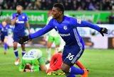 """Varžovų įvartis į savus vartus rungtynių pabaigoje leido """"Schalke"""" išsilaikyti antroje """"Bundesligos"""" vietoje"""
