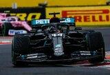 Gniuždantis L.Hamiltono dominavimas: pakartotas M.Schumacherio rekordas ir tik keturi ratu neaplenkti varžovai