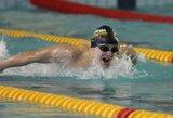 P.Strazdas Europos jaunimo plaukimo čempionate užėmė 6-ą vietą