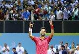 N.Djokovičius Kroatijoje šventė dvi pergales, A.Zverevas krito prieš antrojo šimtuko žaidėją