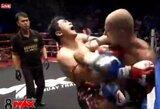 S.Gaižauskas du kartus pasiuntė tailandietį į nokdauną ir pratęsė savo dominavimą ringe (papildyta)