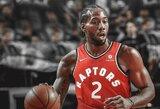 """""""Raptors"""" asistentas įvertino K.Leonardo formą: """"Jis atrodo puikiai"""""""