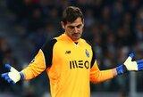 """Atlyginimą susimažinęs I.Casillasas """"Porto"""" gretose liks dar vienam sezonui"""