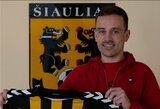 """Prie """"Šiaulių"""" prisijungęs S.Paulius: """"Norisi padėti miestui turėti komandą, kuri rungtyniautų aukščiausioje šalies lygoje"""""""