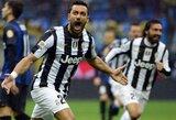 """Italijoje – """"Juventus"""" įveikė """"Inter"""", """"Napoli"""" triumfavo aštuonių įvarčių trileryje"""