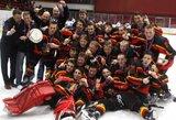Pasaulio iki 18 metų ledo ritulio III diviziono čempionate nugalėjo Belgijos rinktinė