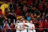 Ir vėl be L.Messi žaidusi Argentinos rinktinė prieš ispanus patyrė rekordinį pralaimėjimą