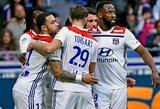 """""""Lyon"""" namuose susitvarkė su """"Angers"""" futbolininkais"""