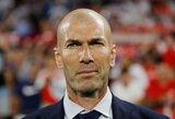 """Z.Zidanas džiūgauja: """"Pergalė prieš """"Sevilla"""" yra geriausia po mano sugrįžimo"""""""