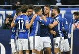 """Vokietijos """"Bundesliga"""" pirmenybėse - lengva """"Schalke"""" pergalė"""