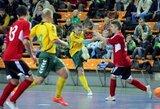 Lietuvos salės futbolo rinktinė įveikė Maltą