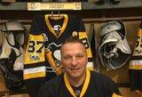 """""""Penguins"""" pagerbtas D.Kasparaitis: """"Malonu matyti, kad žmonės Pitsburge vis dar myli mane"""""""