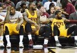 """""""Cavaliers"""" artimiausias rungtynes žais be trijų žvaigždžių"""