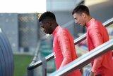 """J.M.Bartomeu: """"O.Dembele yra geresnis už Neymarą"""""""
