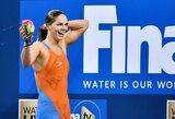 Antrajame pasaulio taurės etape J.Jefimova susirinko tris aukso medalius