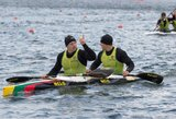 Baidarininkų dvivietės tikslas – olimpinis kelialapis