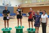Baltijos šalių jaunių stalo teniso pirmenybėse – lietuvių triumfas