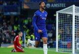 """R.Loftusas-Cheekas pelnė """"hat-tricką"""", o """"Chelsea"""" Europos lygoje iškovojo užtikrintą pergalę"""