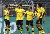 """""""Borussia"""" minimaliu rezultatu įveikė """"Hertha"""""""