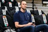 """""""Nuggets"""" vadovo žodžiai apie A.Karnišovą nepaliko abejonių """"Bulls"""" klubui dėl lietuvio"""