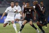 """""""Real"""" klubas po baudinių serijos įveikė """"Milan"""""""