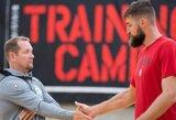 """""""Raptors"""" treneris ruošiasi J.Valančiūnui suteikti daugiau atsakomybės puolime ir gynyboje"""