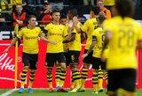 """5 įvarčius varžovams atseikėjusi """"Borussia"""" pergalingai startavo """"Bundesliga"""" čempionate"""