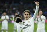 """""""Santiago Bernabeu"""" stadione sužibo geriausio pasaulio futbolininko apdovanojimas, o """"Real"""" iškovojo pergalę"""