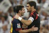Gražus poelgis: L.Messi linki I.Casillasui greito atsigavimo