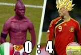 Patys linksmiausi EURO 2012 finalo juokai