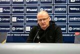 """11 metų nematytą seriją su Lietuvos rinktine pasiekęs V.Urbonas: """"Visos rungtynės buvo orientuotos į rezultato siekimą"""""""