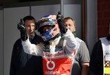 Dramatiškose Belgijos GP lenktynėse pergalę iškovojo J.Buttonas