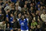 """R.Lukaku atvedė """"Everton"""" į sunkią pergalę"""