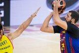 """Sugrįžęs N.Mirotičius svariai prisidėjo prie """"Barcelona"""" pergalės"""
